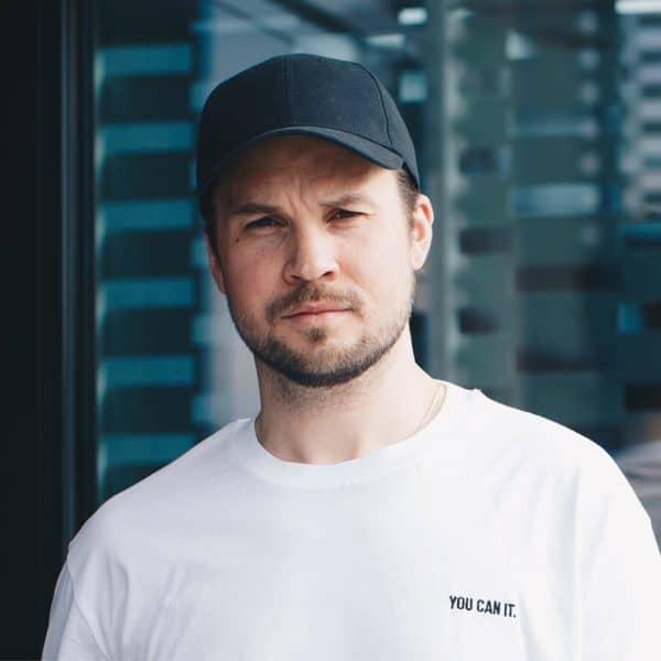 Anders Nilsen - You can it - T-skjorte - Hvit - Detalj