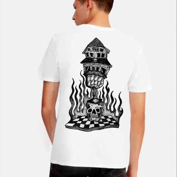 Hanekam - Heksebrann - T-skjorte