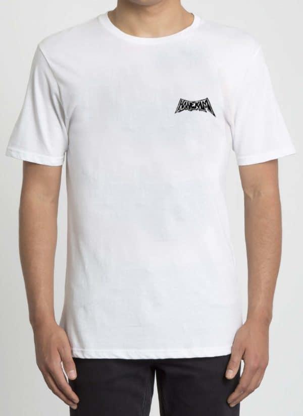 Hanekam - Oscar - hvit - t-skjorte