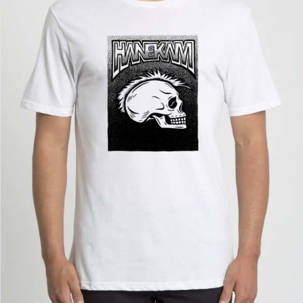 Hanekam - PJ skull - T-skjorte