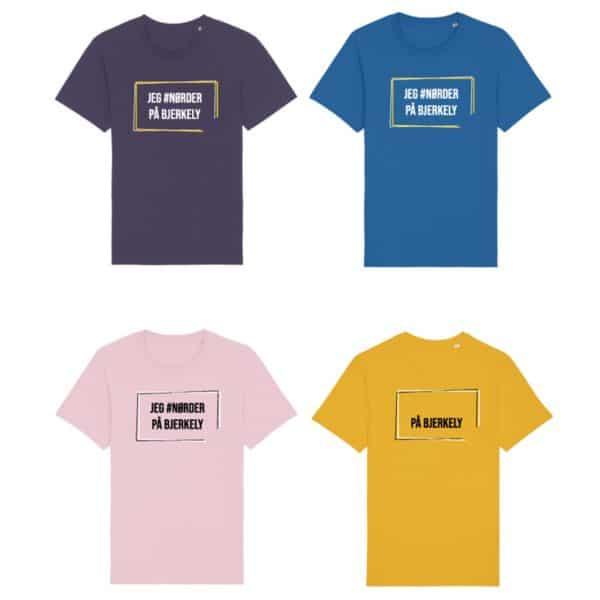 Jeg nørder på Bjerkely - T-skjorte - Bolk