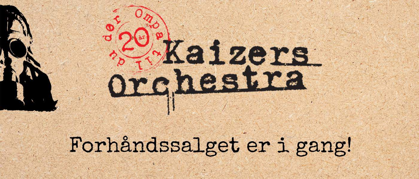 Kaizers Orchestra Merch