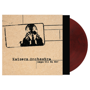 Kaizers Orchestra - Ompa til du dør - Rød - Vinyl