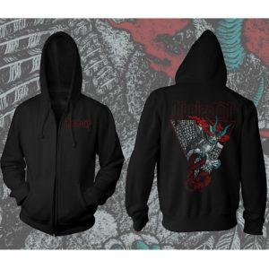 Kvelertak - Demon owl - Zip hoodie