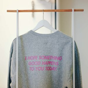 Martine Halvorsen - Something good - Crewneck