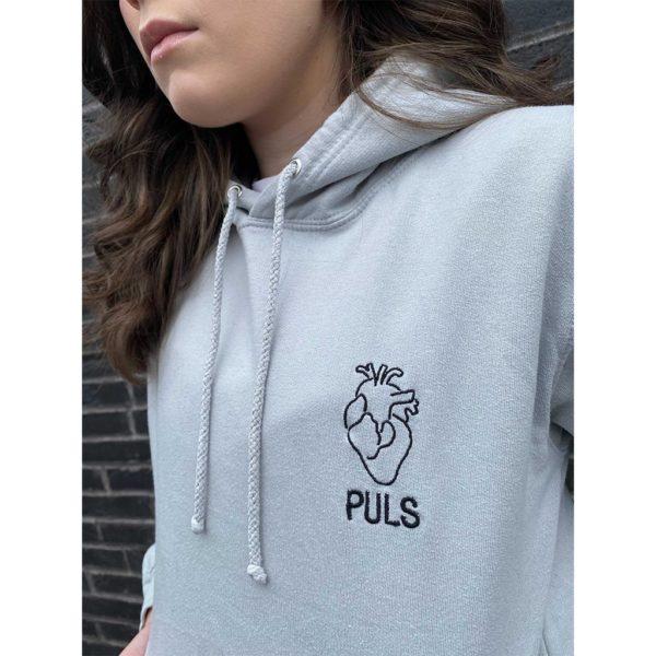 PULS by Linnea - Hoodie - Månestøv - Detalj