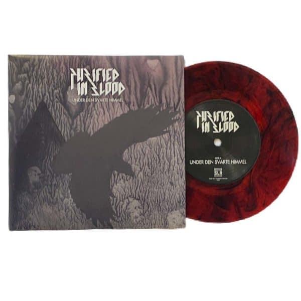 Purified in Blood - Under den svarte himmel - LP