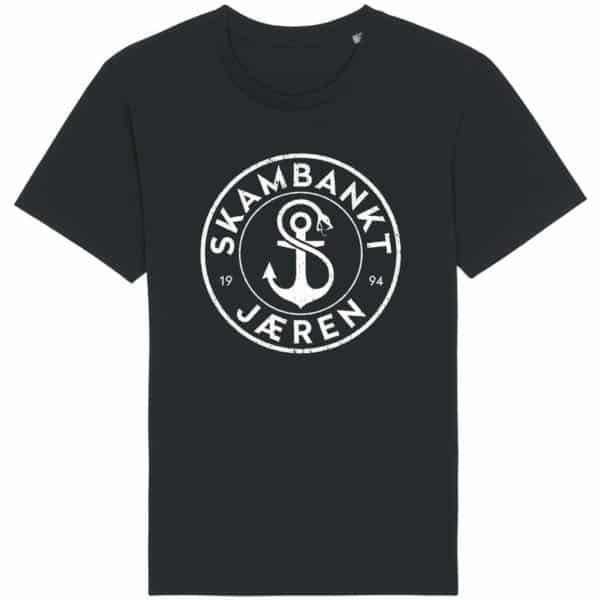 Skambankt - Ny Jærenlogo - T-skjorte - Sort