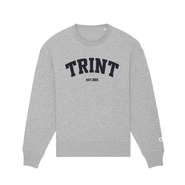 TRINT - Crewneck - Heather grey
