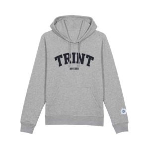 TRINT - Hoodie - Heather Grey
