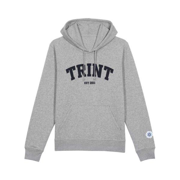 TRINT - Hoodie - Heather Grey