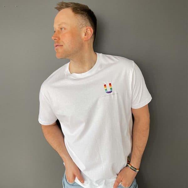 Ut av skapet - T-skjorte - Hvit